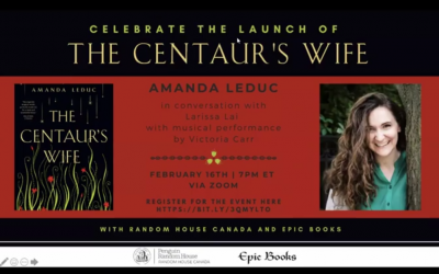 Zoom launch for The Centaur's Wife!